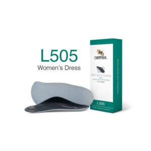 Дамски официални ортопедични стелки метатарзални L505W