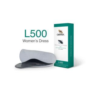 Дамски официални ортопедични стелки неутрални L500W