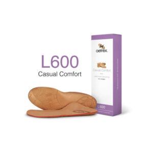 Дамски всекидневни ортопедични стелки неутрални L600W