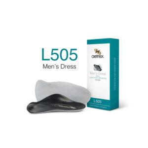 Мъжки официални ортопедични стелки метатарзални L505M