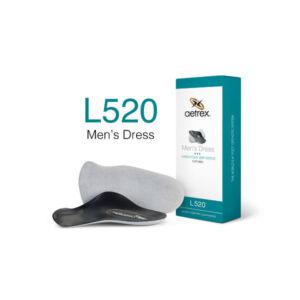 Мъжки ортопедични стелки официални плоскостъпие L520M