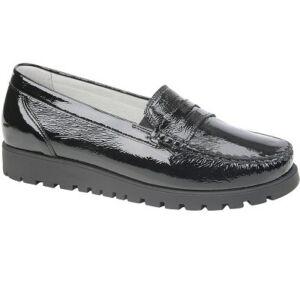 Удобни дамски обувки HEGLI-MOC BLK 549002-143-001