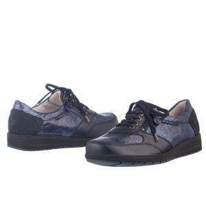 Удобни дамски обувки MIMI сини