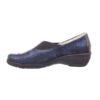 Удобни дамски обувки HAGA SLIP ON сини