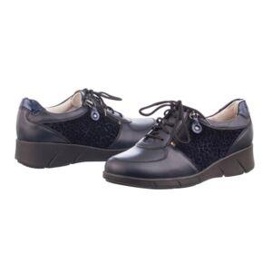 Удобни дамски обувки KAINA сини