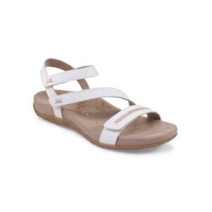 Ортопедични сандали цвят бял SE263W