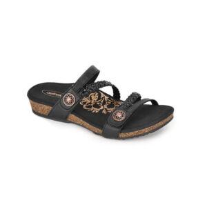 Удобни дамски чехли SC530 черни