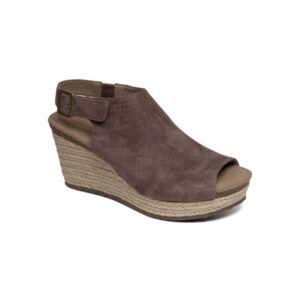 Удобни дамски сандали EW722 бежов