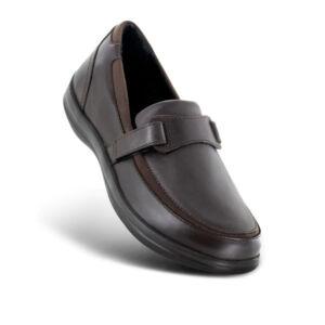 Дамски ортопедични обувки A215 кафяви