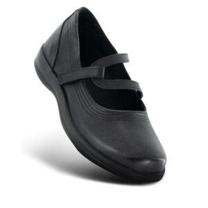 Дамски ортопедични обувки A300 черни