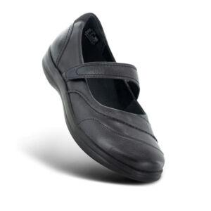 Дамски ортопедични обувки A330 черни