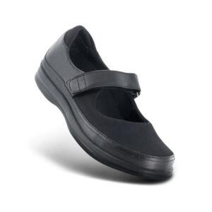Дамски ортопедични обувки A350 черни