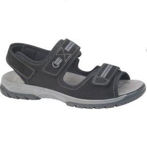 Удобни мъжки сандали HARALD SND черни