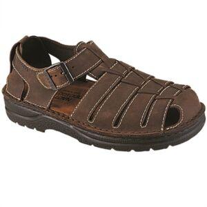 Удобни мъжки сандали Julius кафяви
