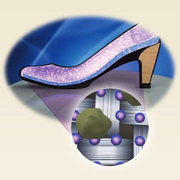 Анти-микробна технология в обувките Aetrex