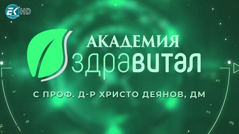 """Лого """"Академия Здравитал"""" по ЕВРОКОМ"""