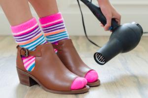 Обработка обувки сешоар