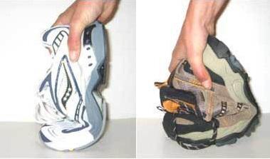 Сравнение на мека обувка и обувка със солидна поддръжка