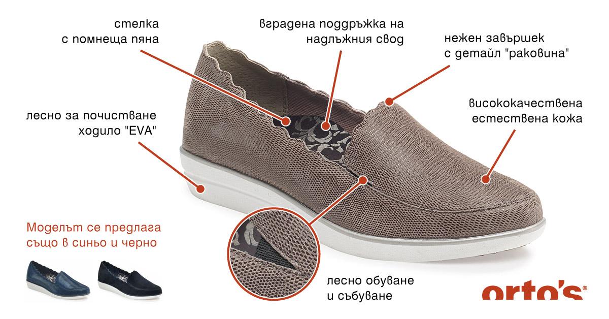 Ортопедични обувки Ortos - какво ги отличава