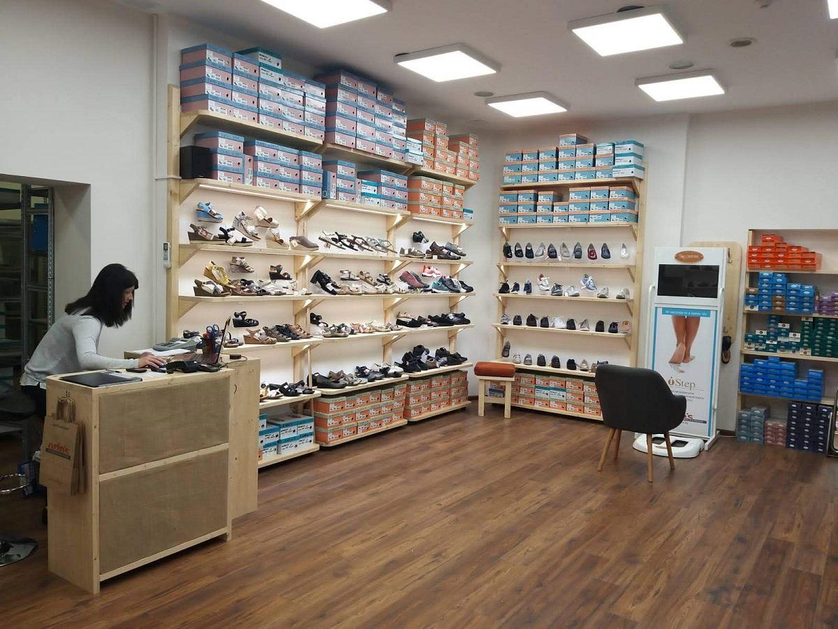 Магазин ORTO'S, Пловдив - изглед отвътре