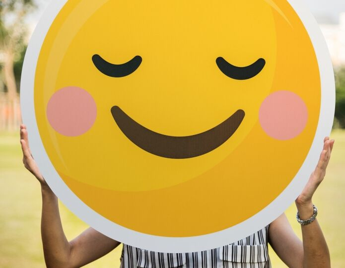 Усмихнато лице