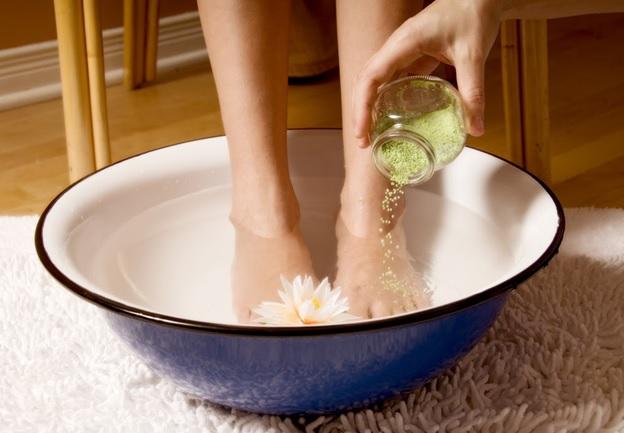 Топла СПА вана за краката