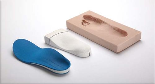 Индивидуални ортопедични стелки изработени по отпечатък