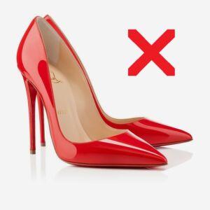 Обувки неподходящи за кокалчета (буниони)